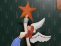 Fold Art Christmas Tree Angel Topper